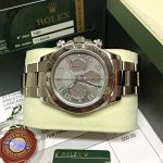 Rolex replica Daytona 116509 White Gold Slate Dial5