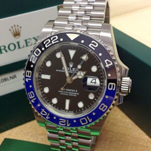 Rolex replica GMT Master II 126710BLNR Batman 1