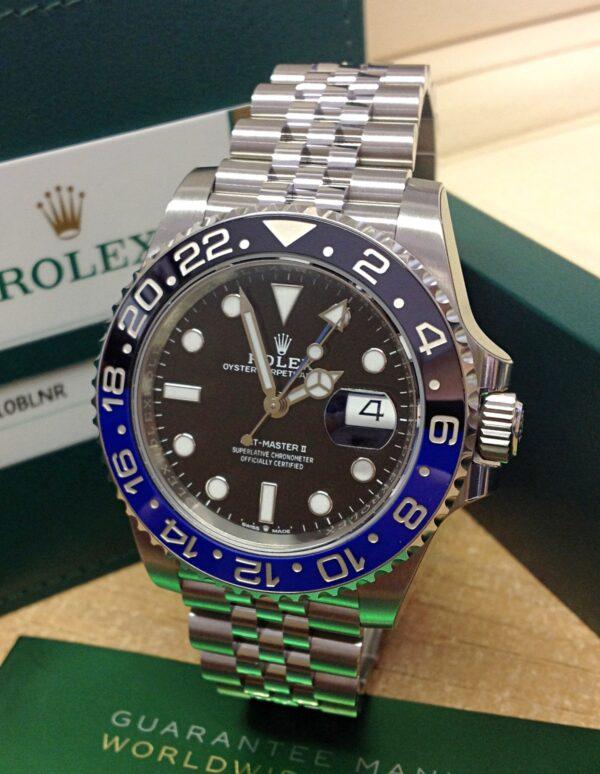 Rolex replica GMT Master II 126710BLNR Batman-1