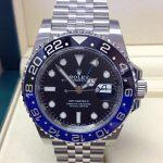 Rolex replica GMT Master II 126710BLNR Batman-3