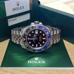 Rolex replica GMT Master II 126710BLNR Batman-5