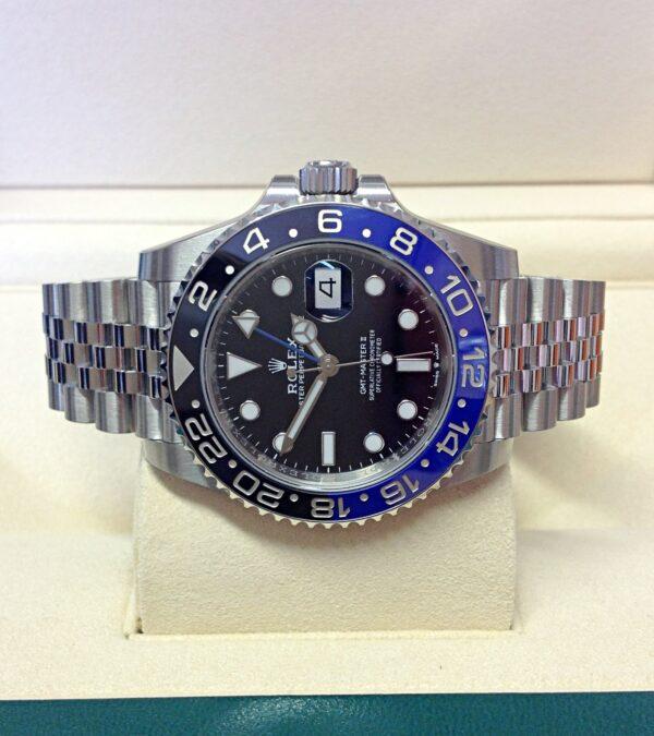 Rolex replica GMT Master II 126710BLNR Batman-6