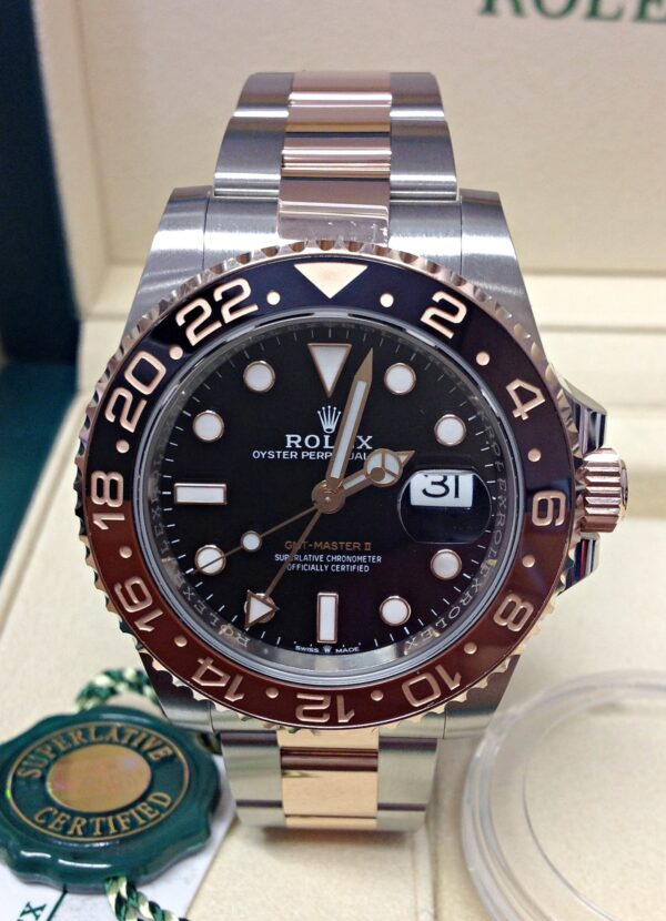 Rolex replica GMT Master II 126711CHNR Bi:Colour5