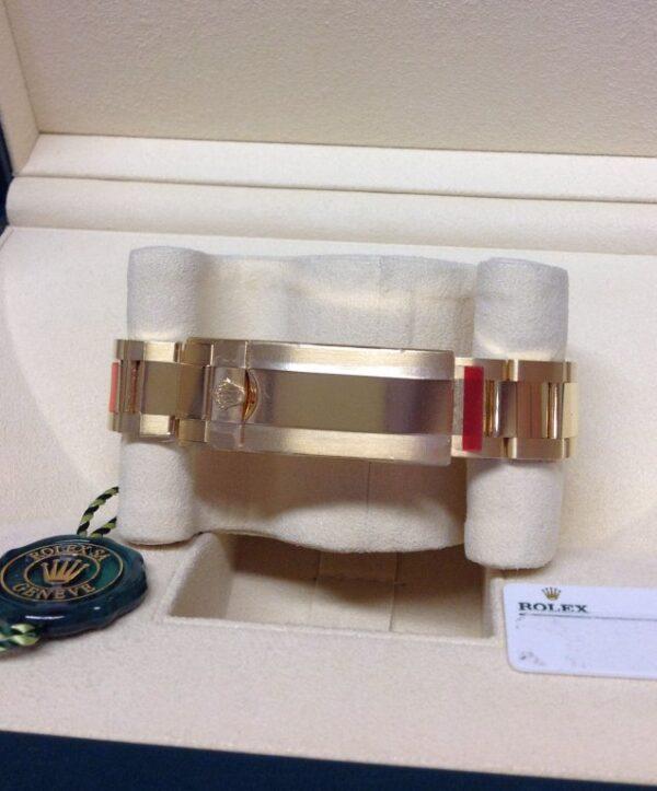 Rolex replica Submariner Date 116618LN Yellow Gold3