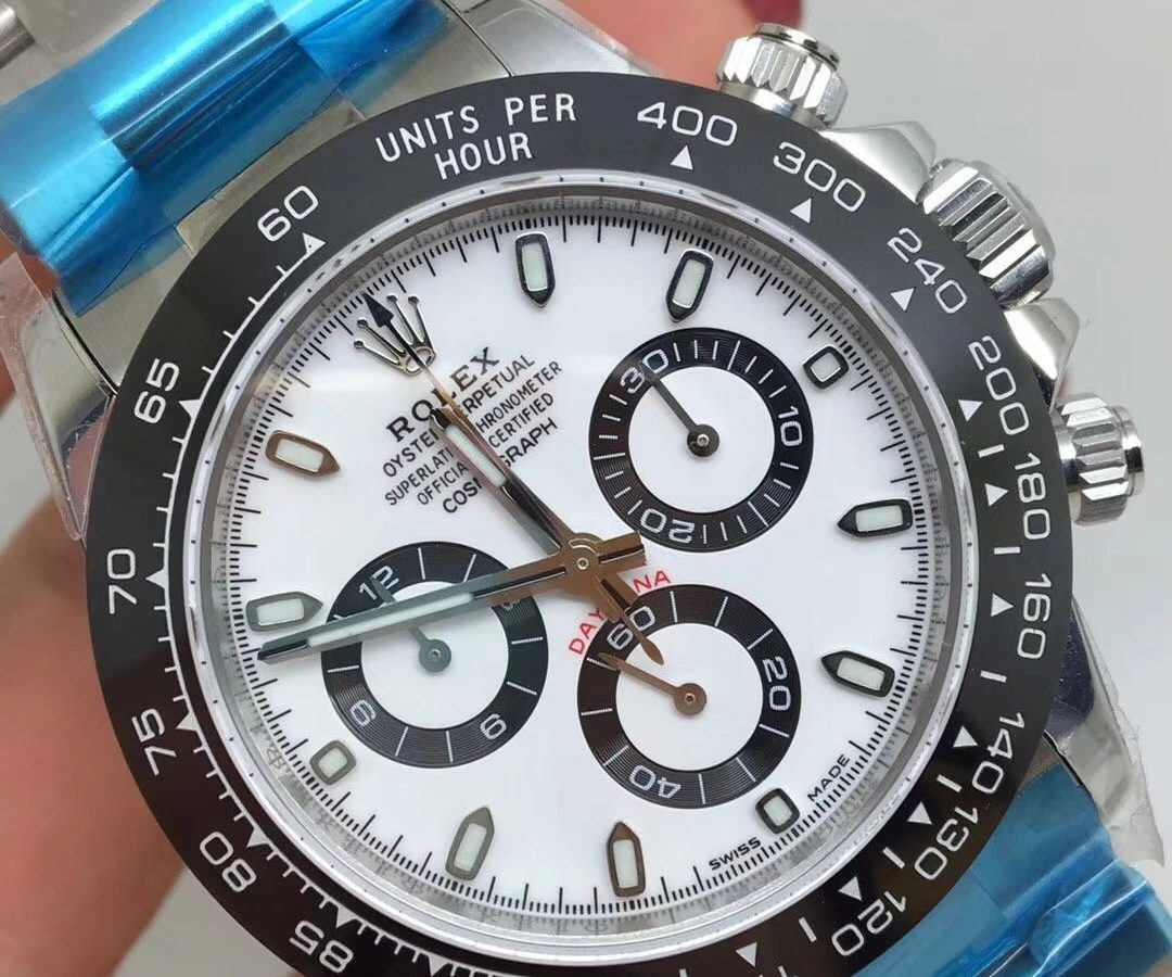 ROLEX DAYTONA REPLICA CERAMICHON WATCHES IN 2018 WITH 4130 FULLY CHRONOGRAPH MOVEMENT WHITE DIAL4